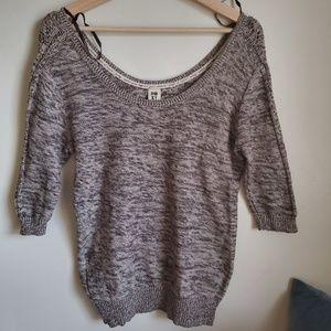 Roxy v neck sweater